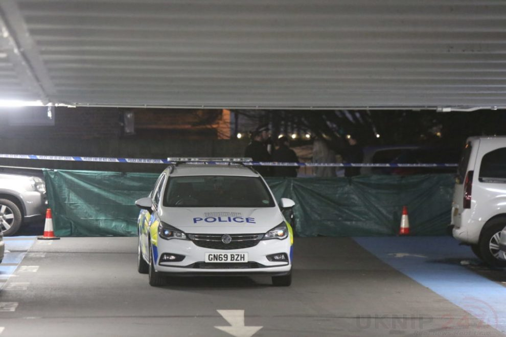 police cordon off multi storey car park in tunbridge well after fatality
