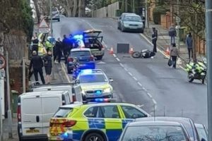 police pursuit involving helicopter in orpington ends with arrests