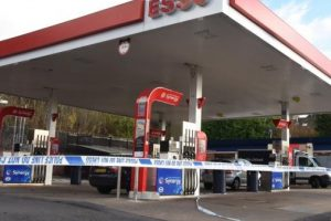Raiders steal cashpoint  from petrol station in Staplehurst using JCB Digger