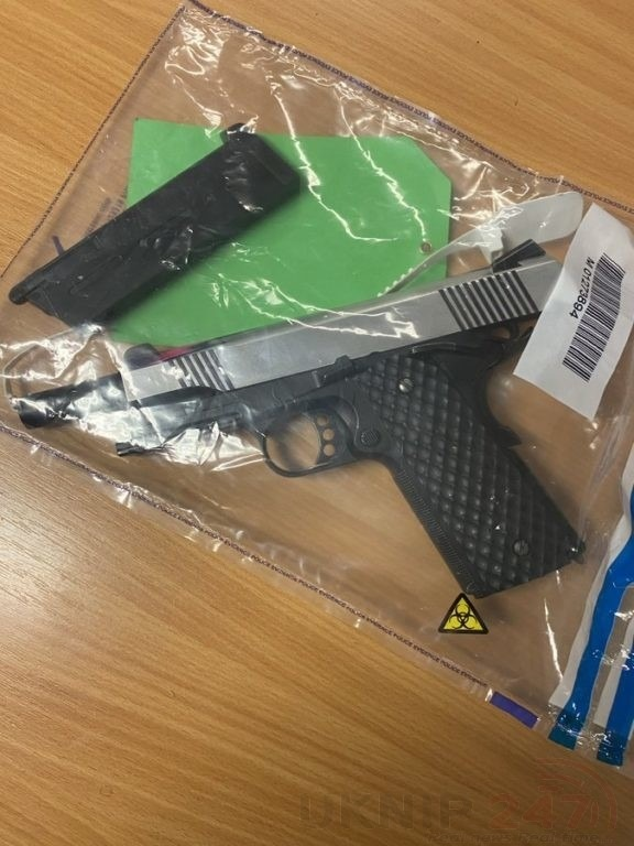 scary times as police seized this from train in faversham