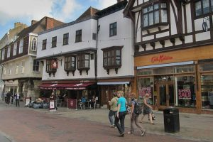 two men charged with assaulting police officers in canterbury high street