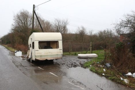 a fly tipper has been branded incredibly irresponsible and the neighbours dont look too impressed either 10