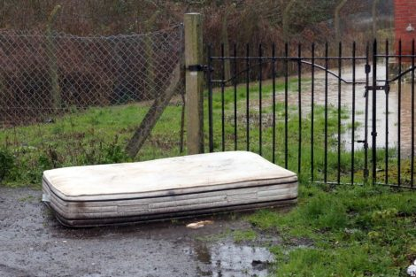 a fly tipper has been branded incredibly irresponsible and the neighbours dont look too impressed either 4