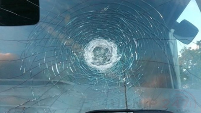 action is being taken following reports of vehicles being hit with stones in medway