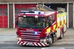 batteries left on charge in gillingham garage thought to have cause fire