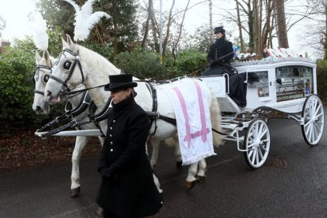 big fat gypsy send off in seven oaks for twins billy and joey smith 12