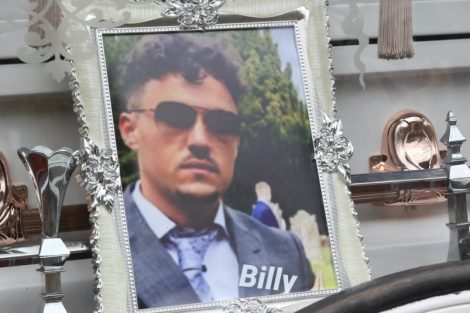 big fat gypsy send off in seven oaks for twins billy and joey smith 16