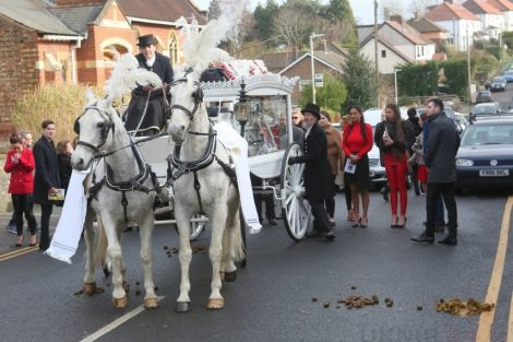 big fat gypsy send off in seven oaks for twins billy and joey smith 22