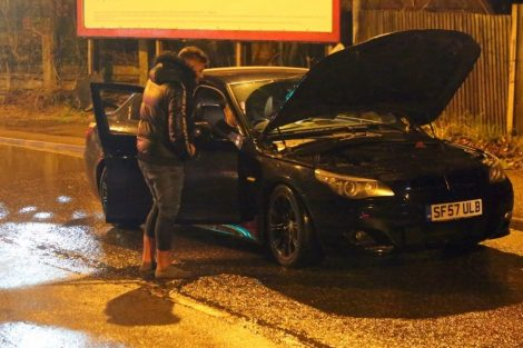 brave or foolish as driver play roulette with flooding in tunbridge 14