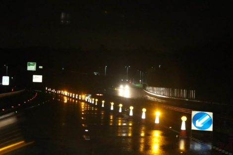 brave or foolish as driver play roulette with flooding in tunbridge 24