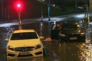 brave or foolish as driver play roulette with flooding in tunbridge