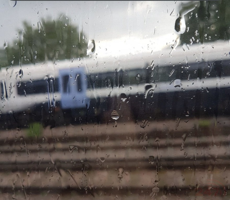 delays on kent railways after train hits obstruction on the track