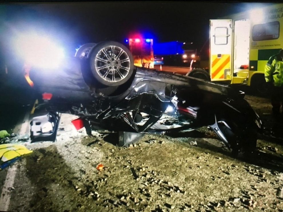 drink driver from overturned car on the m20 released pending further inquiries