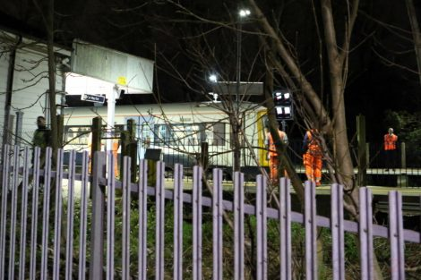 emergency crews called to person trapped under a train at eden park near bromely 29