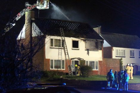 family left homeless after late night blaze rips through mereworth property 3