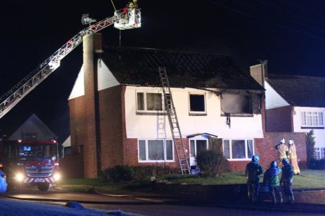family left homeless after late night blaze rips through mereworth property 4