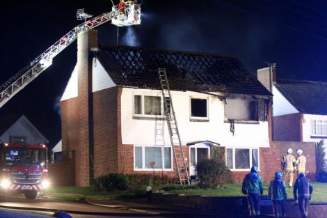 family left homeless after late night blaze rips through mereworth property 5