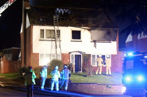 family left homeless after late night blaze rips through mereworth property 6