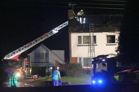 family left homeless after late night blaze rips through mereworth property 7