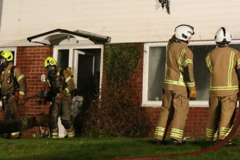 family left homeless after late night blaze rips through mereworth property 9