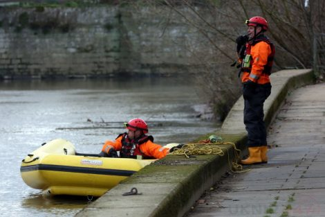 fire crew tackle boat ablaze on the river medway in kent 4