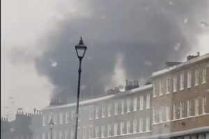 fire crews scambled to tackle ramsgate blaze
