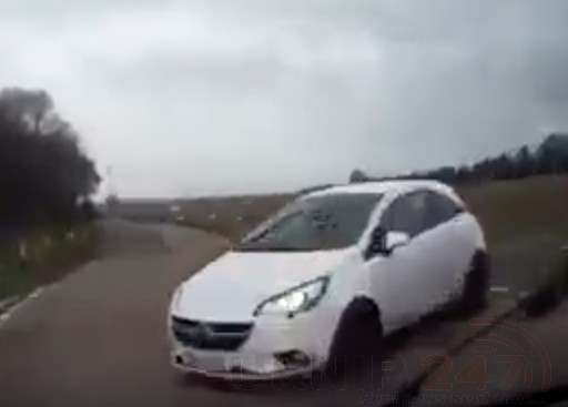 lucky escape captured on dashcam more than can be said for the cars