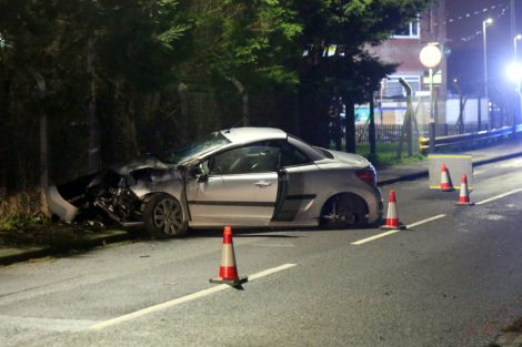 man arrested for drink driver after isle of sheppey collision 15