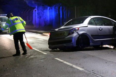 man arrested for drink driver after isle of sheppey collision 27