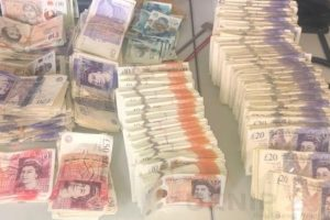 medway drugs warrant leads to seizure of large haul of cash and class a drugs