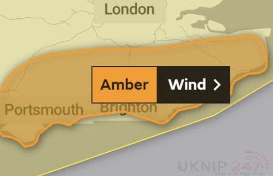 met office upgrade weather warning for south east to amber