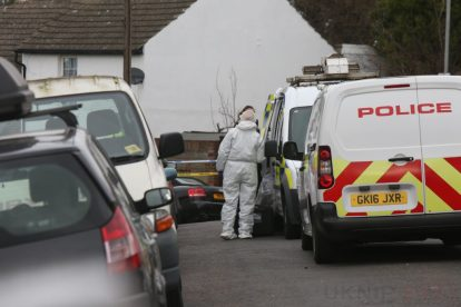 northfleet road in police lockdown after man is violently attacked in his home 15