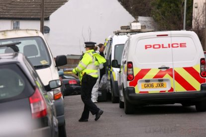 northfleet road in police lockdown after man is violently attacked in his home 16