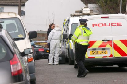 northfleet road in police lockdown after man is violently attacked in his home 17