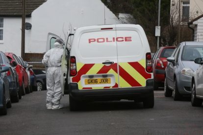 northfleet road in police lockdown after man is violently attacked in his home 26