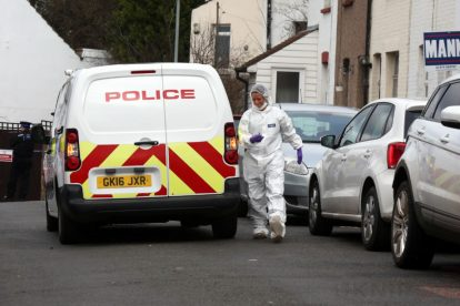 northfleet road in police lockdown after man is violently attacked in his home 27