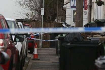 northfleet road in police lockdown after man is violently attacked in his home 29
