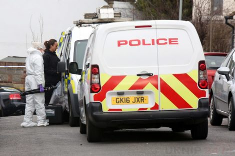 northfleet road in police lockdown after man is violently attacked in his home 3