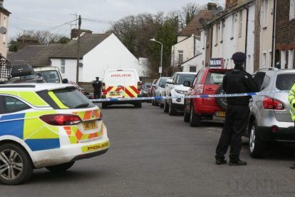 northfleet road in police lockdown after man is violently attacked in his home 31