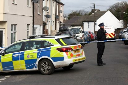 northfleet road in police lockdown after man is violently attacked in his home 36