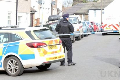 northfleet road in police lockdown after man is violently attacked in his home 37