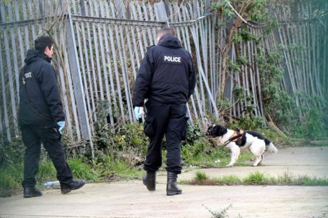 northfleet road in police lockdown after man is violently attacked in his home 44