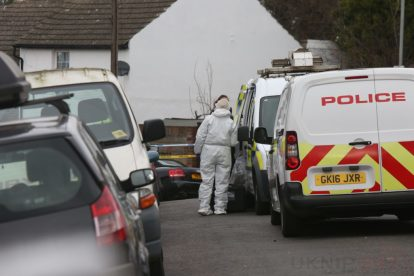 northfleet road in police lockdown after man is violently attacked in his home 7