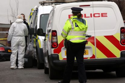 northfleet road in police lockdown after man is violently attacked in his home 8