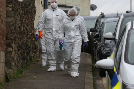 police manhunt continues in murder investigation after man is violently attacked in his home in northfleet 12