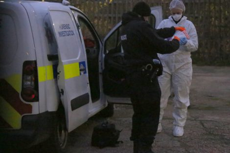 police manhunt continues in murder investigation after man is violently attacked in his home in northfleet 32