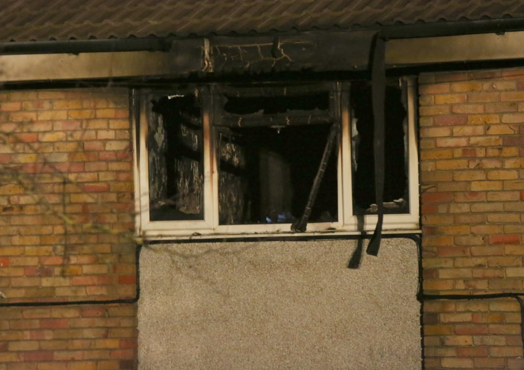 Shock After Late-night Fire Rips Through Dartford Flat Seeing Two Taken To Hospitial