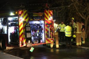 shock after late night fire rips through dartford flat seeing two taken to hospitial 5