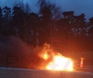 two lanes closed on the m20 motorway london bound closed following vehicle a blaze