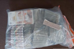 50k in cash drugs and gun haul in county lines raids 3